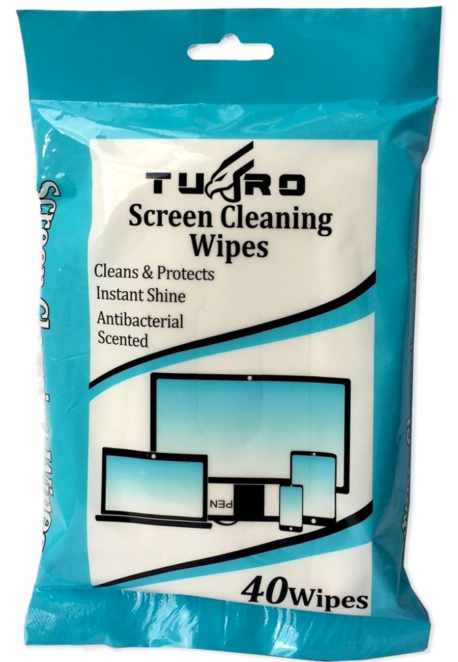 40 Screen Cleaning Wipes
