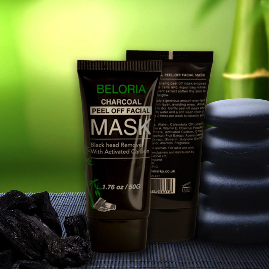 Charcoal Peel-Off Facial Mask