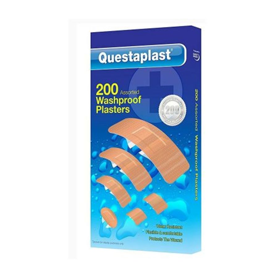 200 Assorted Washproof Plaster