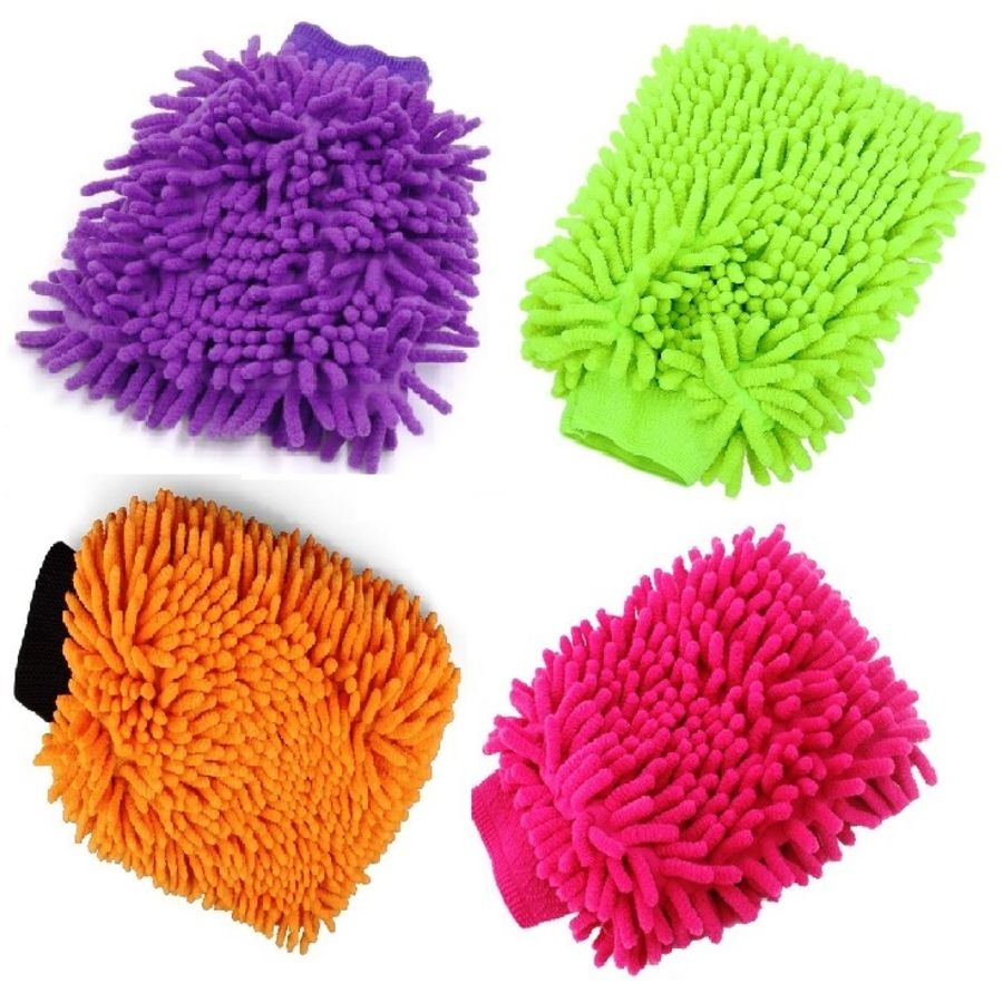 Car Cleaning Mitt Gloves