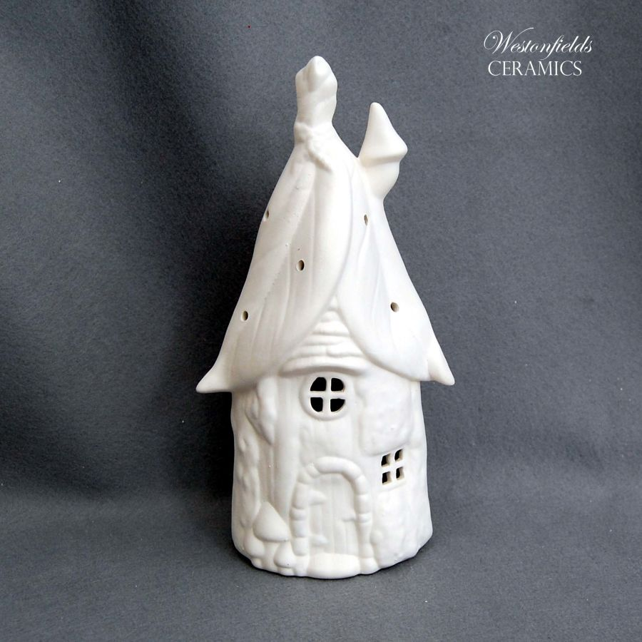 Ceramic Pottery Bisque Biscuit Ware Ready To Paint a Pot Your Own DIY Fairy House