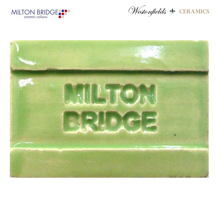Ceramic Pottery Brush On Glaze Milton Bridge CHARTREUSE EARTHENWARE D010 250ml