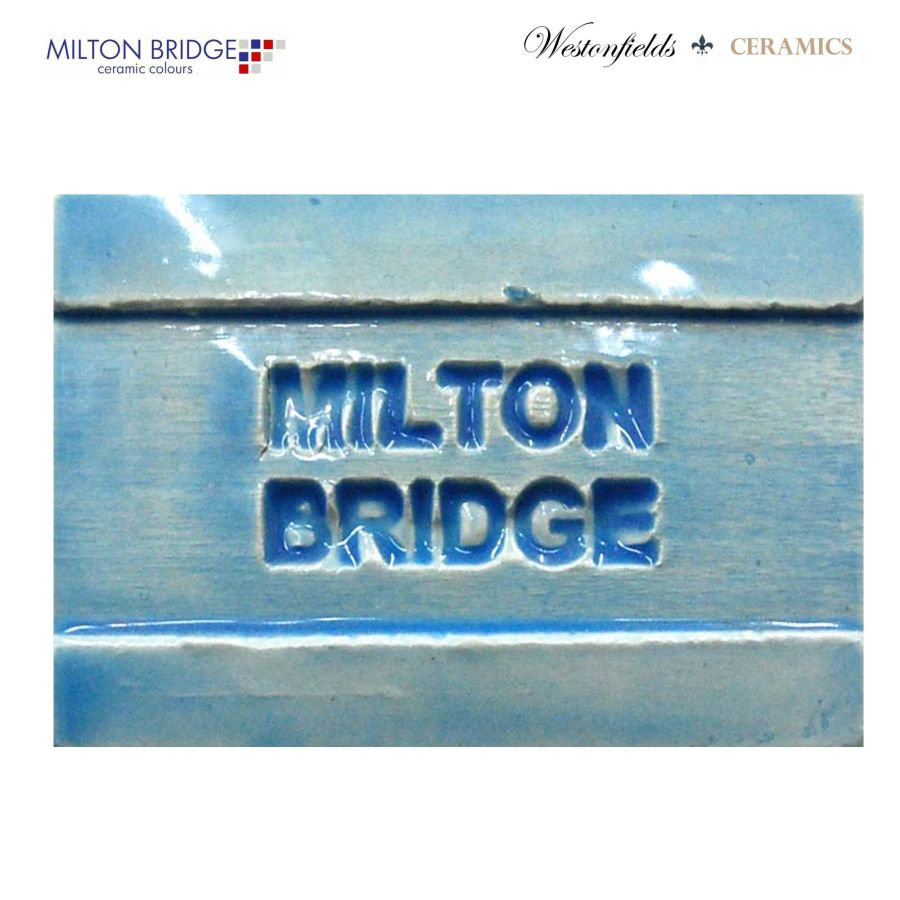 Ceramic Pottery Brush On Glaze Milton Bridge TURQUOISE EARTHENWARE D019 250ml
