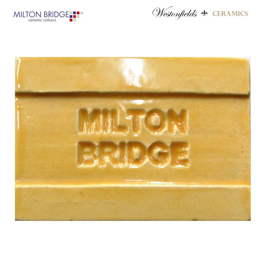 Ceramic Pottery Brush On Glaze Milton Bridge GOLDEN BROWN EARTHENWARE D036 250ml