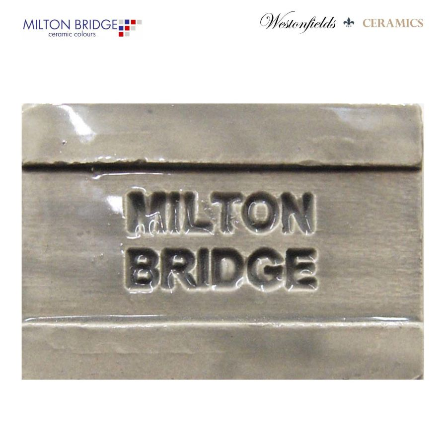 Ceramic Pottery Brush On Glaze Milton Bridge DOVE GREY EARTHENWARE D037 250ml