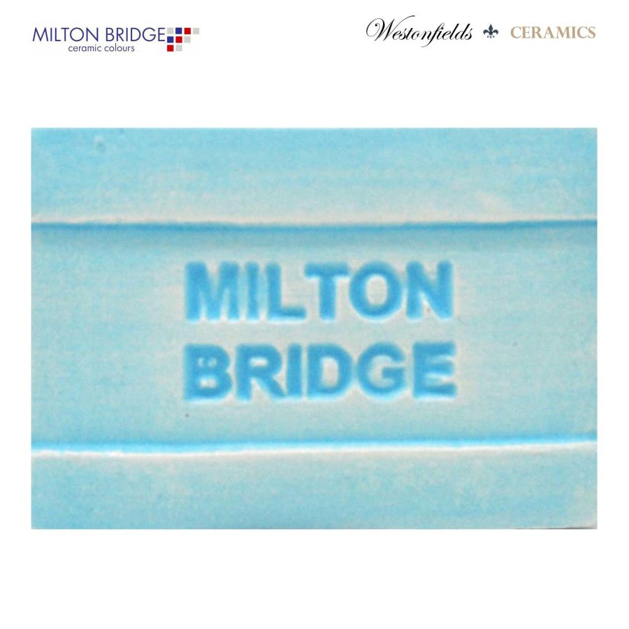 Ceramic Pottery Brush On Glaze Milton Bridge BLUE MONDAY MATT M001 250ml
