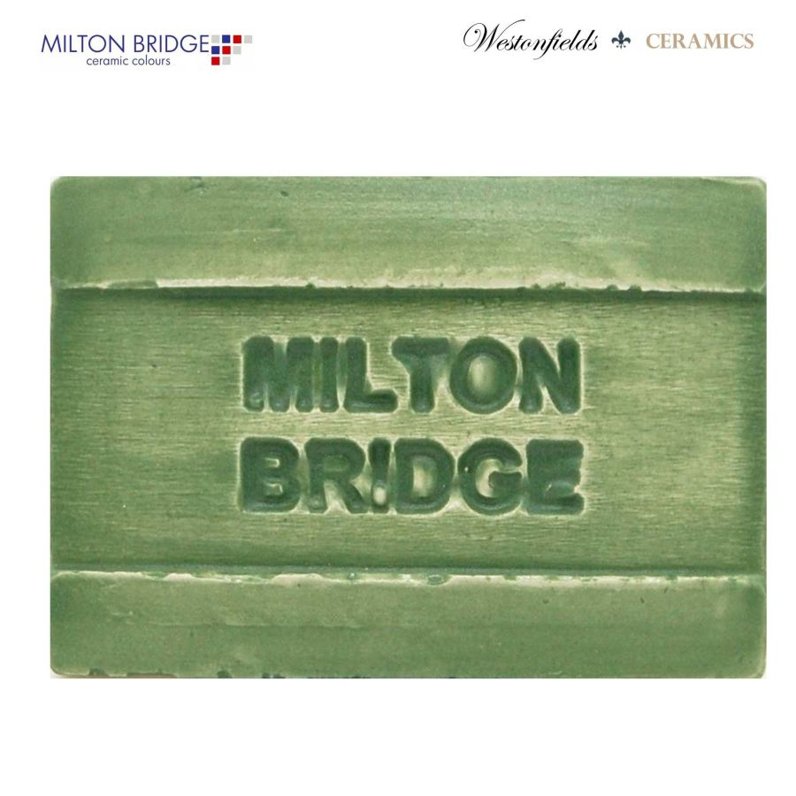 Ceramic Pottery Brush On Glaze Milton Bridge GREEN EYES MATT M006 250ml