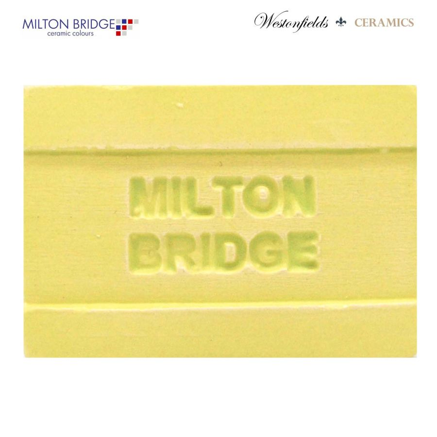 Ceramic Pottery Brush On Glaze Milton Bridge LEMON SONG MATT M009 250ml