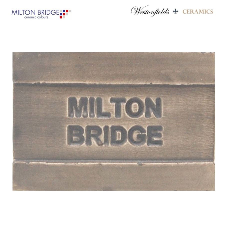 Ceramic Pottery Brush On Glaze Milton Bridge FADE TO GREY M012 250ml