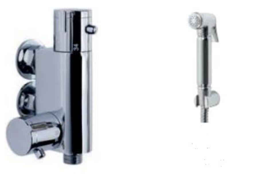 Modern Shattaff Thermostatic Douche Bar Valve & Kit