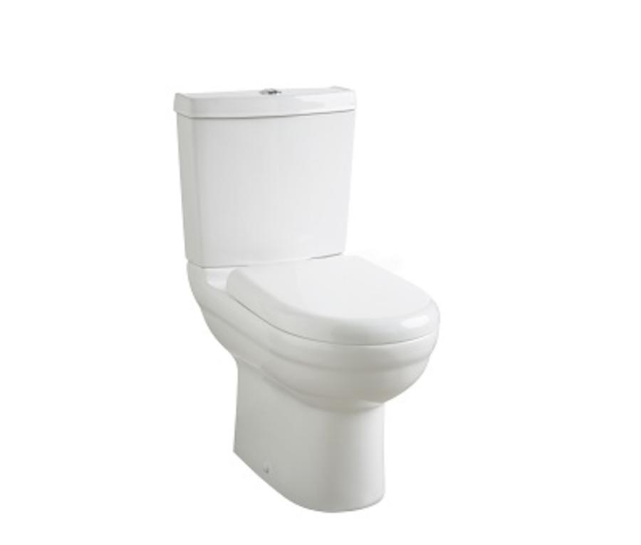 Highlife Skara Series 2 D-Shape Toilet/Cistern/Soft Close Seat Set