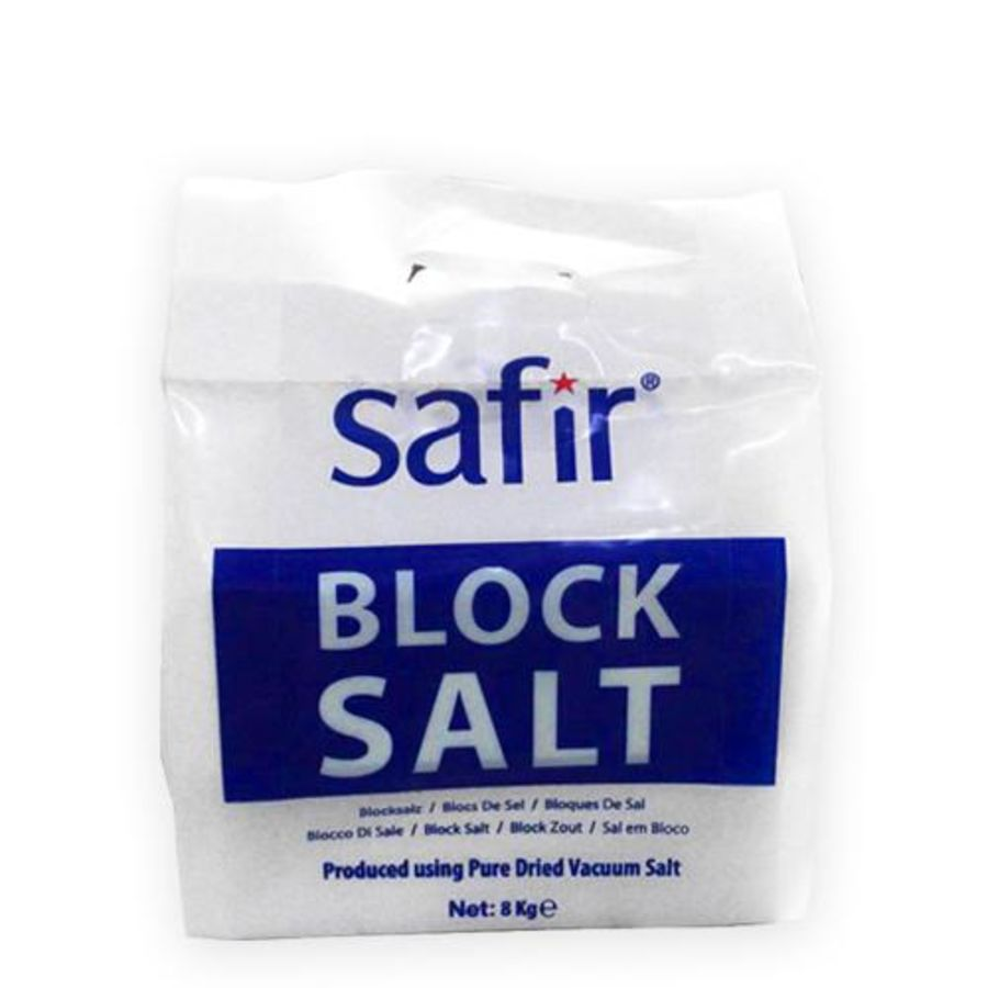 Siwa Block Salt - 8kg (2 x 4kg) - Pallet Quantity - 136 packs