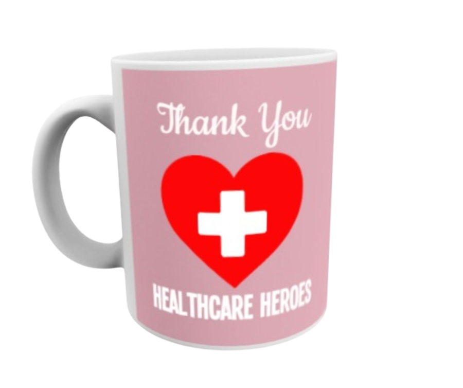 THANK YOU Healthcare Heroes 11oz coronavirus covid-19 gift 11oz mug