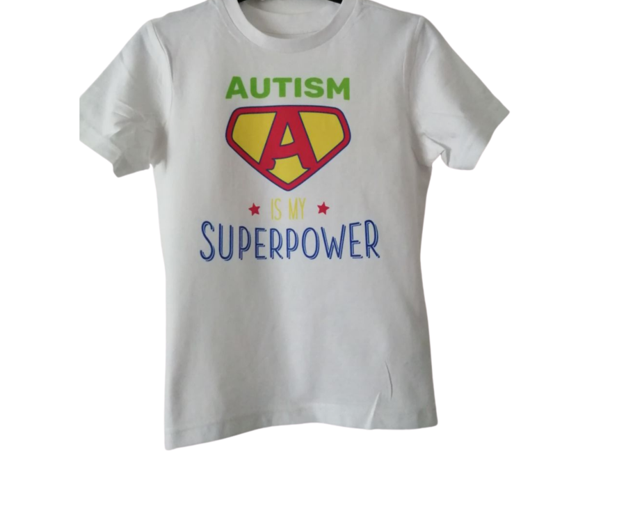 Autism is my Superpower kids childrens t-shirt ages 3 and up