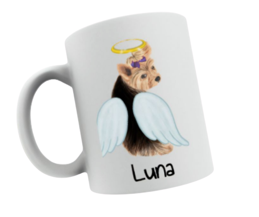 Memorial to lost dog mug 11oz