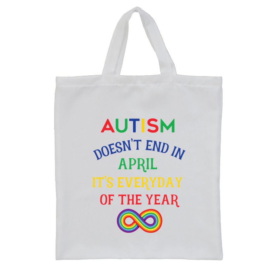 Autism Awareness UK Tote bag style2