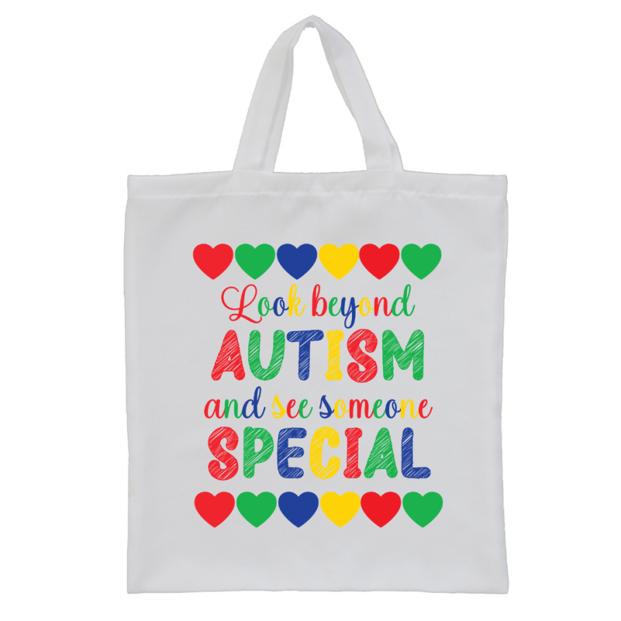 Autism Awareness UK Tote bag style3
