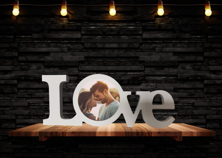 Love Home Decor Custom Photo Ornament