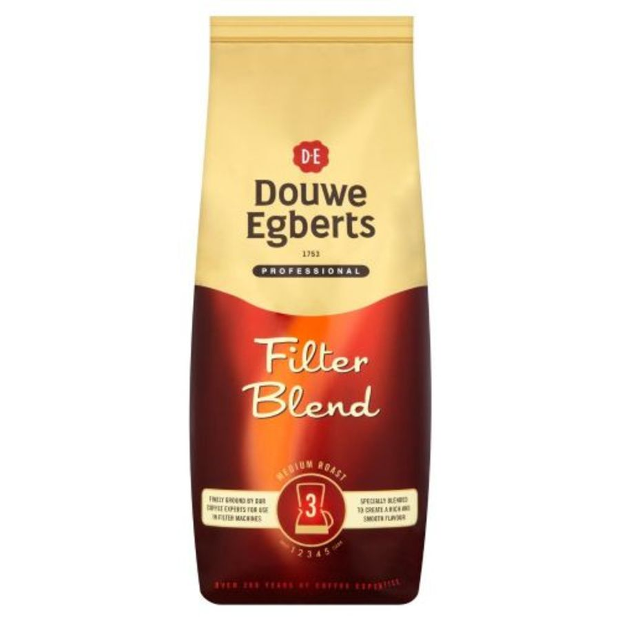 Douwe egberts Real Coffee Filter Fine 1kg