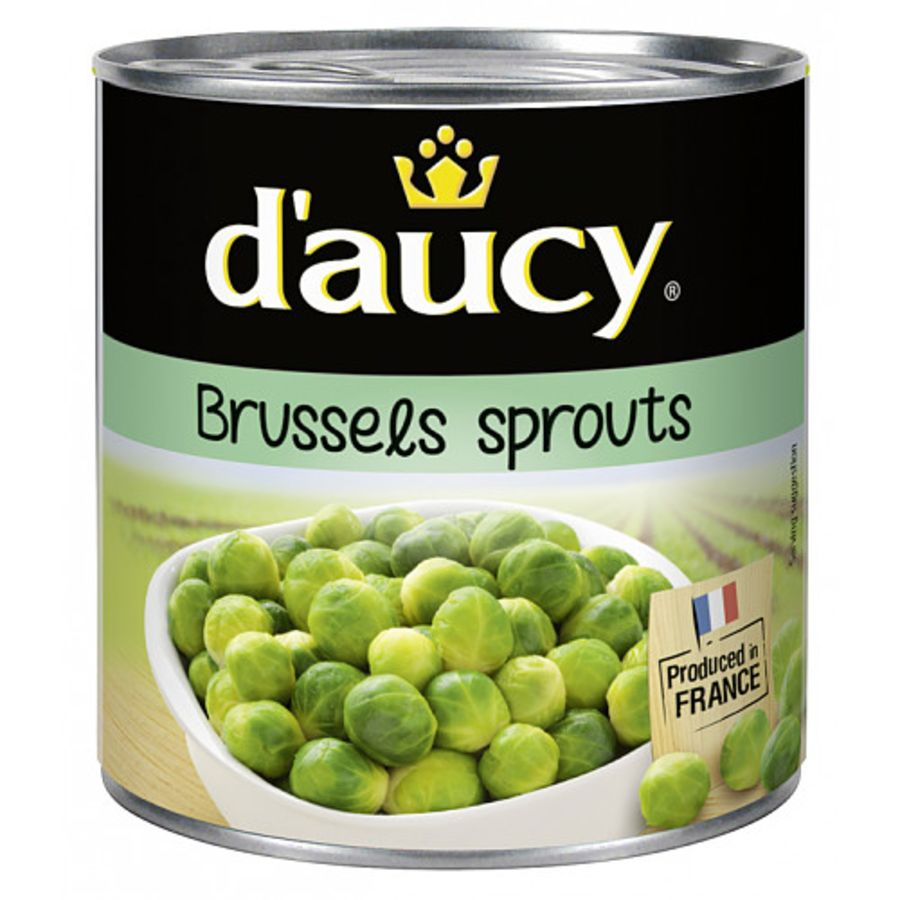 D'Aucy Brussels Sprouts 400g x 5