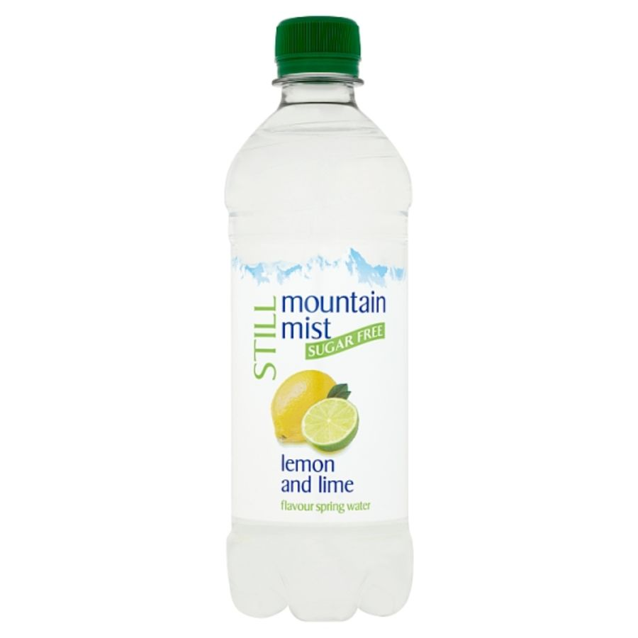 Mountain Mist Still Sugar Free Lemon and Lime Flavour Spring Water 500ml x 24