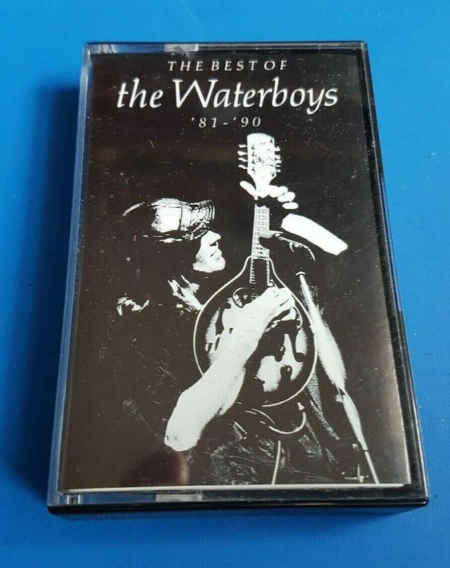 THE WATERBOYS - THE BEST OF '81 - '90 - CASSETTE ALBUM - 1991 - ENSIGN