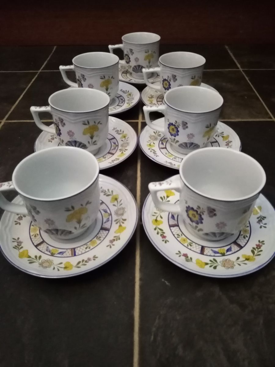 Georges Briard design Bretonne tea cup and saucer