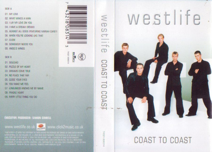 Westlife - Coast to coast cassette album 73211808314