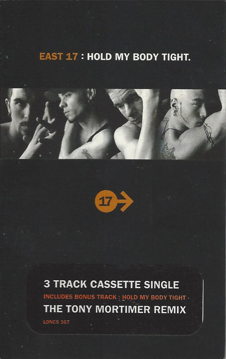 East 17 – Hold My Body Tight cassette single