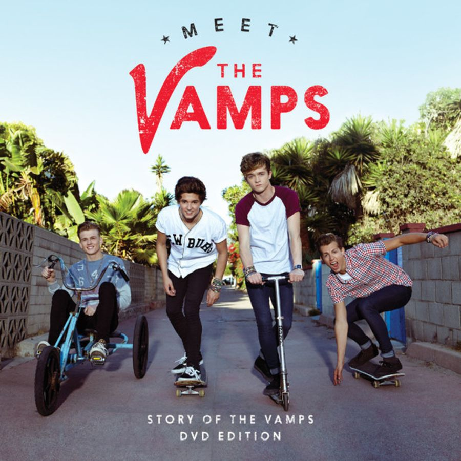 The Vamps (5) – Meet The Vamps (Story Of The Vamps DVD Edition) CD album