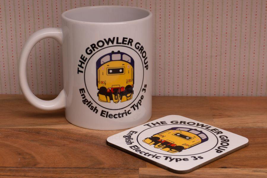 Growler Group Mug & Coaster set