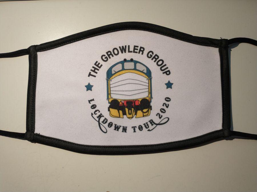 Growler Group 'Lockdown Tour 2020' Printed Facemask
