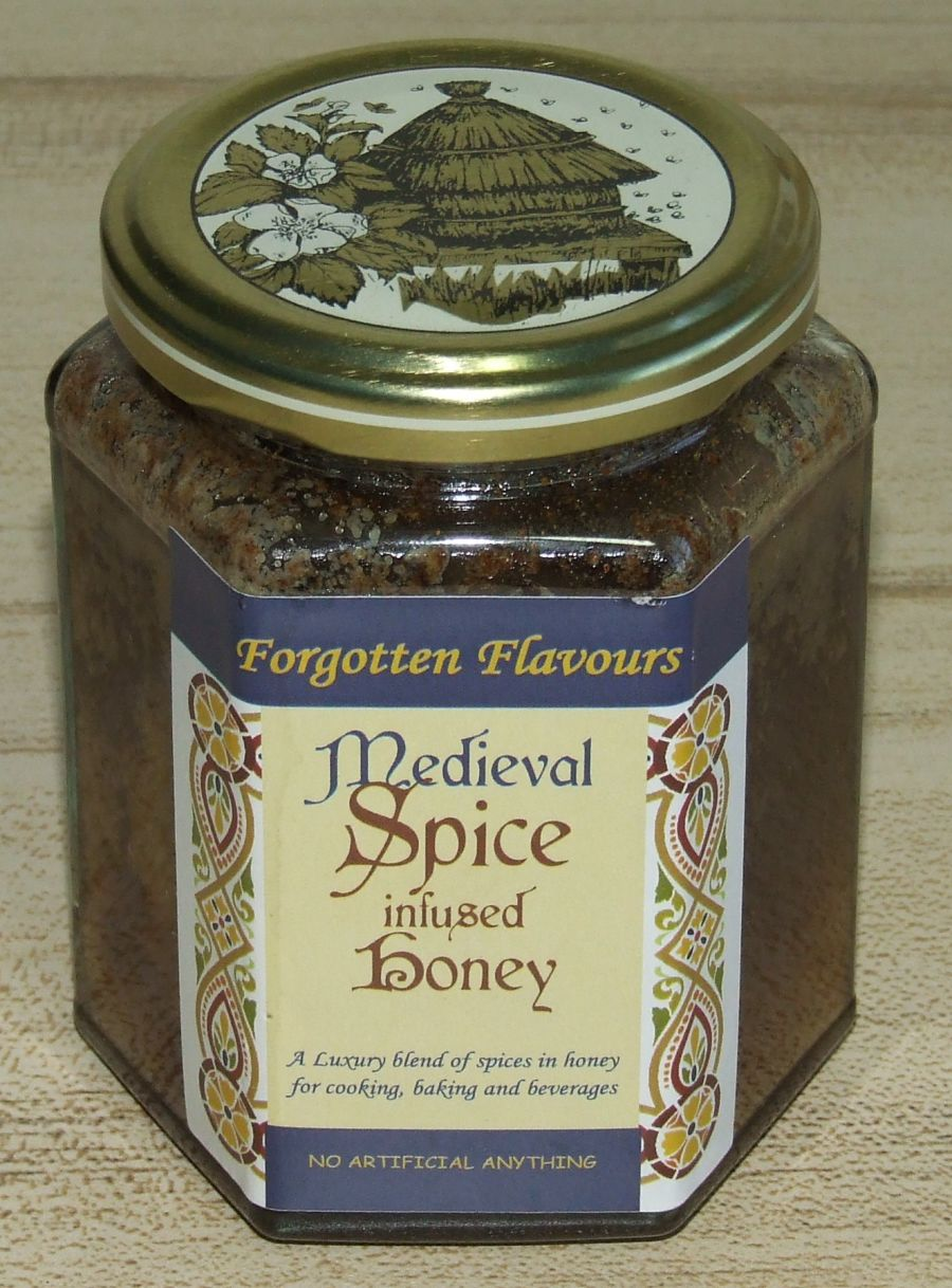 Medieval Spice infused Honey