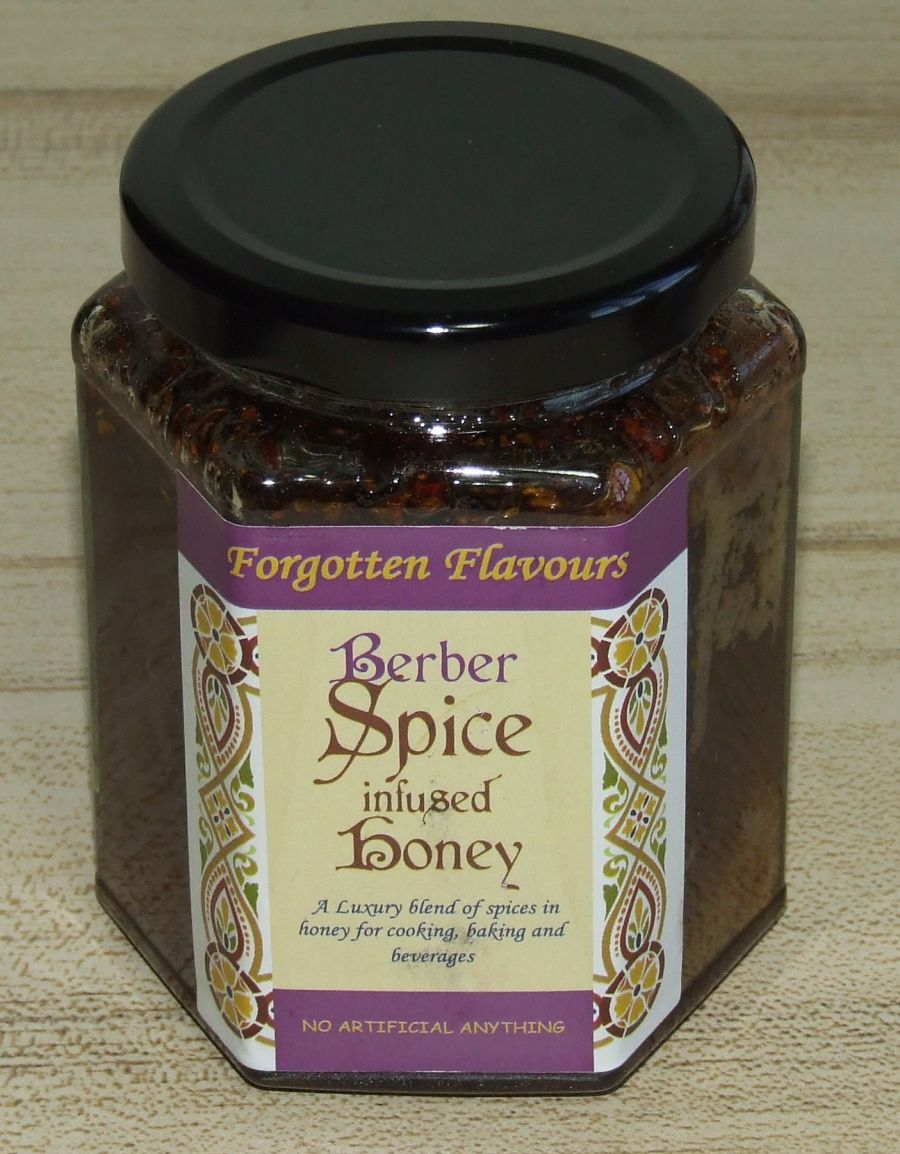 Berber Spice infused Honey