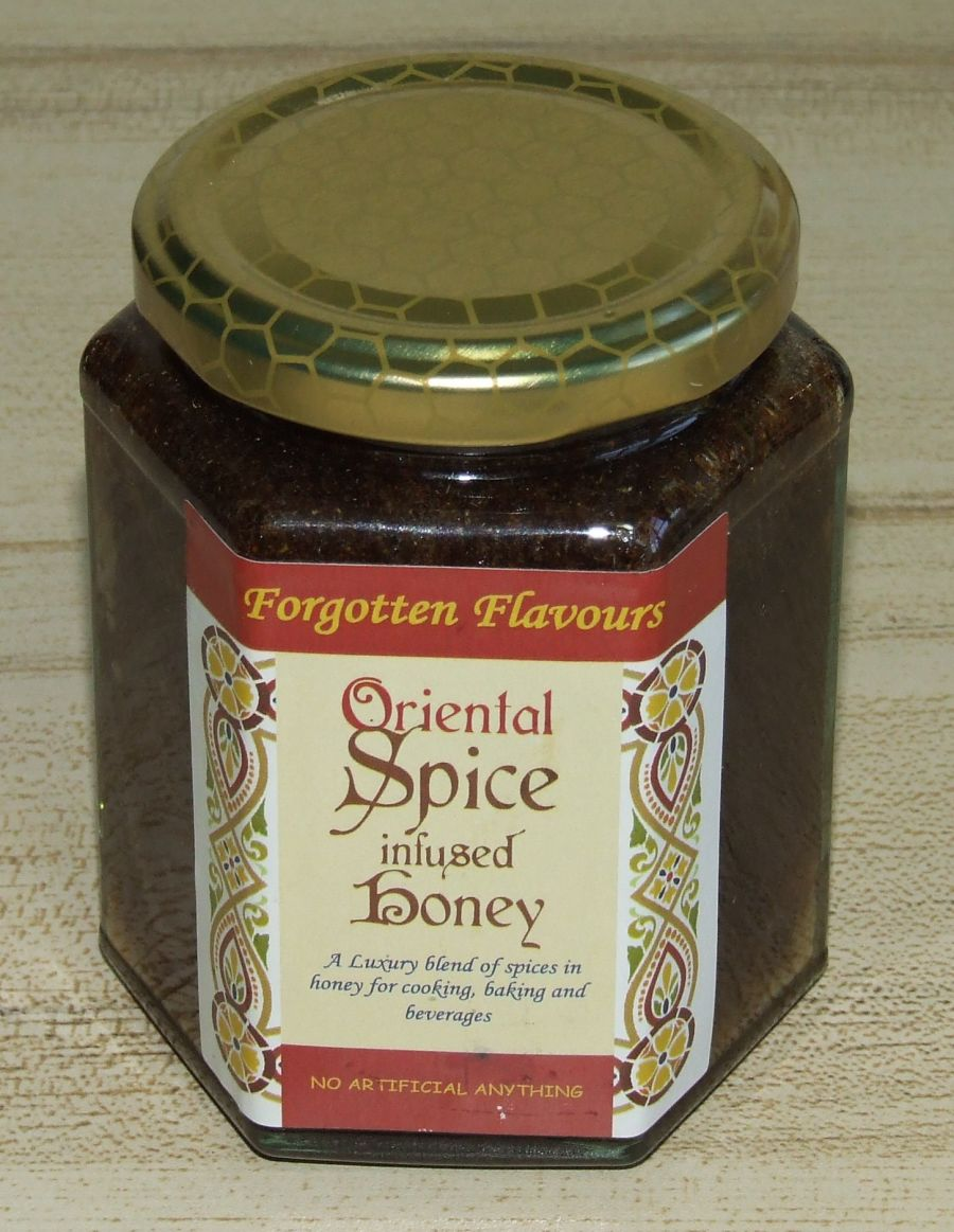 Oriental Spice infused Honey