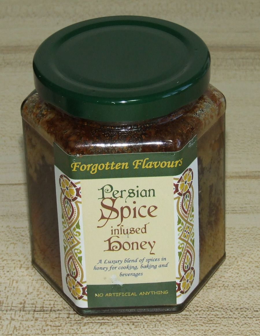 Persian Spice infused Honey
