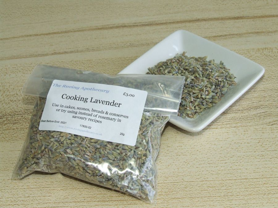 Cooking Lavender