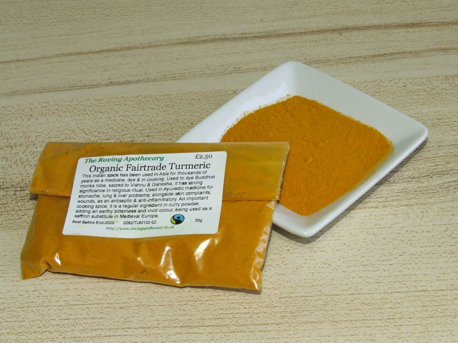 Organic Fairtrade Turmeric
