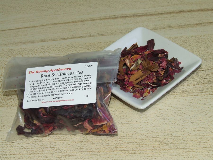 Rose and Hibiscus Tea