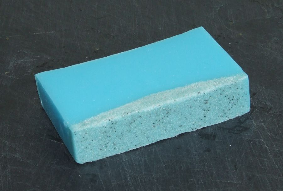 Peppermint & Eucalyptus Soap with Pumice