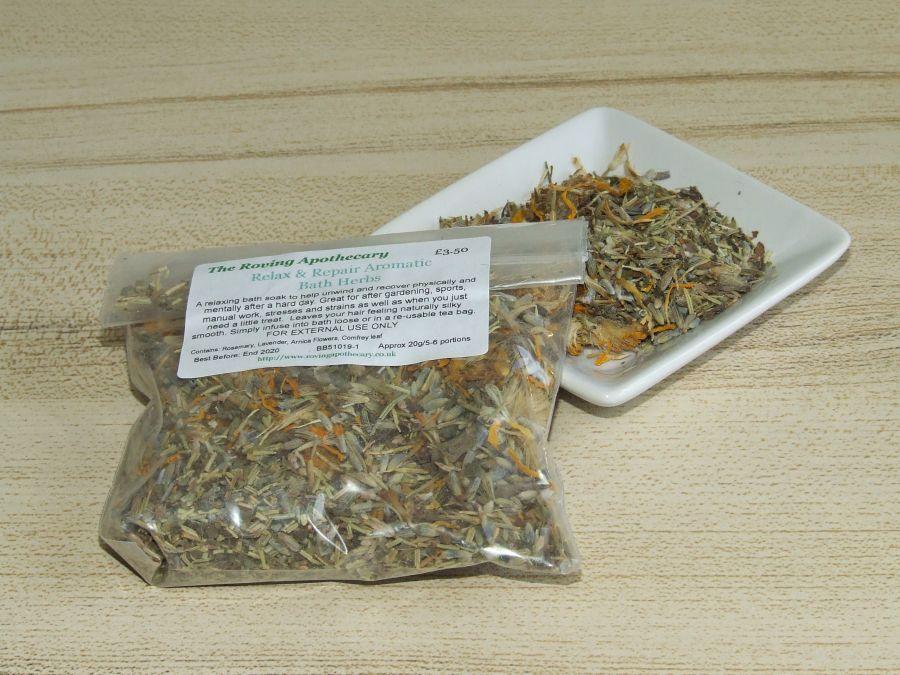 Relax & Repair Aromatic Bath Herbs