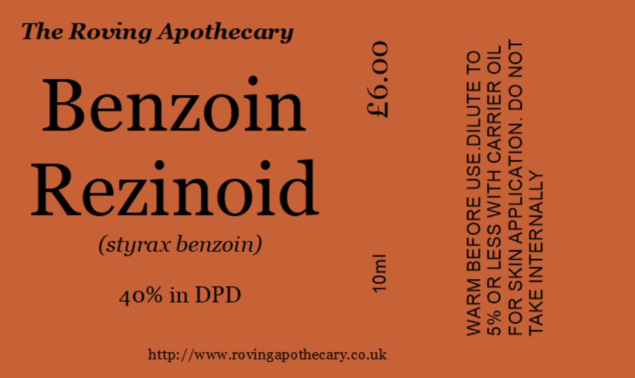 Benzoin Essential Oil