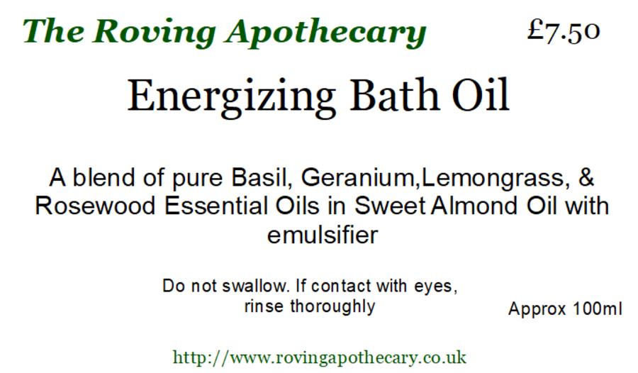 Energizing Bath Oil 100ml