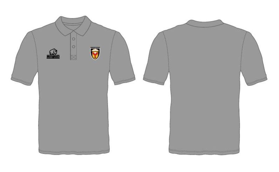 Polo Shirt - Plain Grey