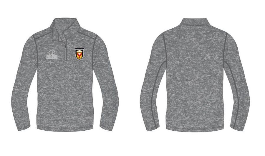 Hyper 1/4 zip jacket - Grey