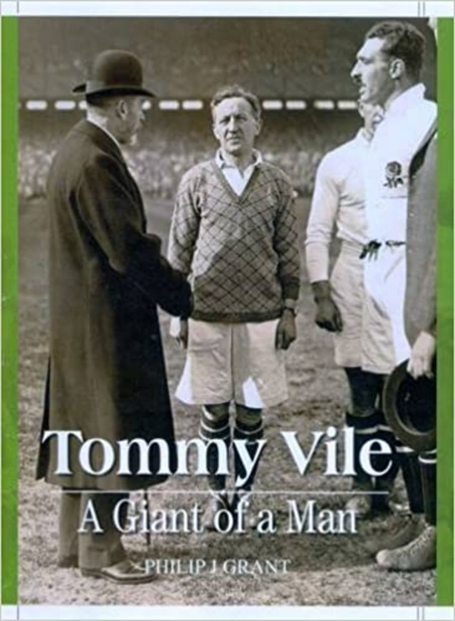 Book - Tommy Vile - A Giant of a Man