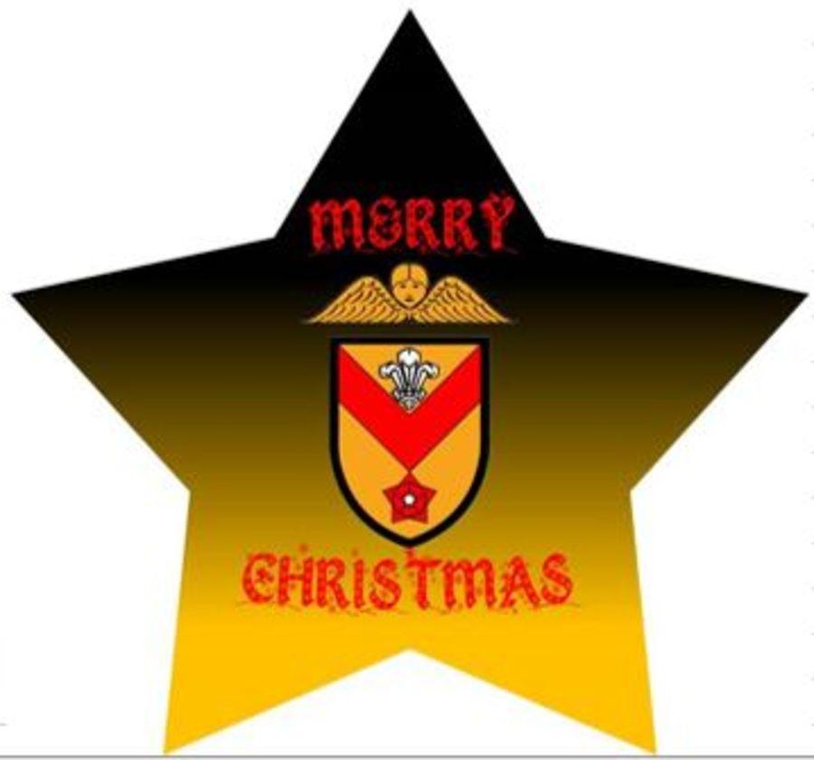 FoNR - Newport RFC Christmas Tree Ornament