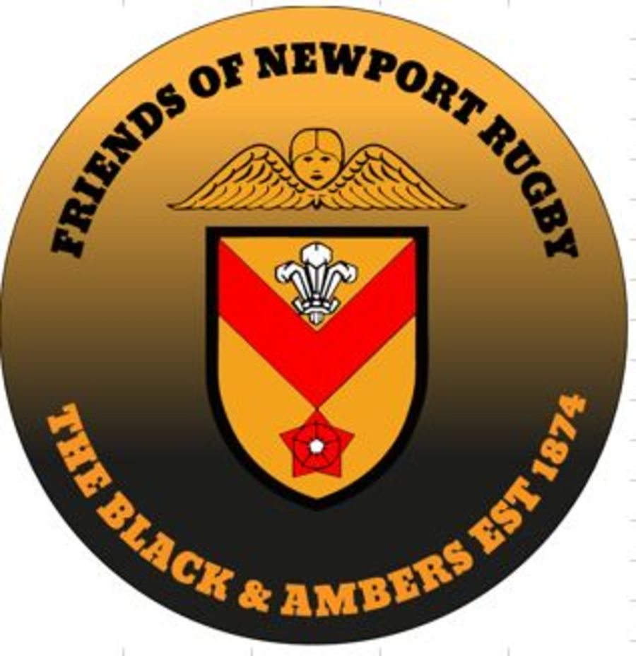 FoNR - Newport RFC Car Sticker
