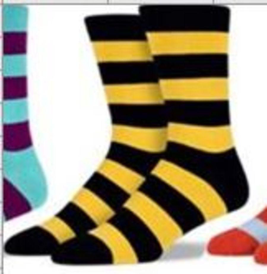 FoNR - Newport RFC Black & Amber Socks
