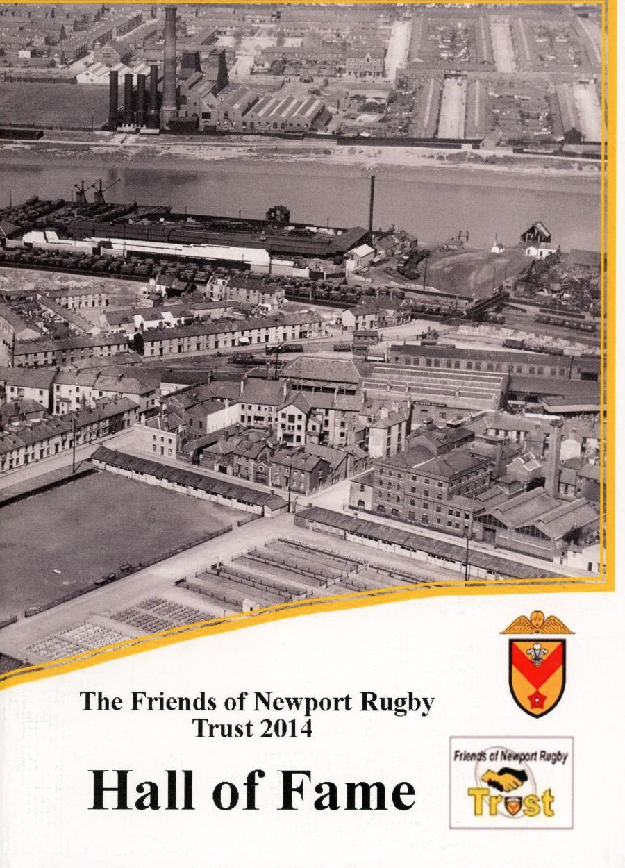 Booklet - 3rd Newport RFC Hall of Fame - 2014